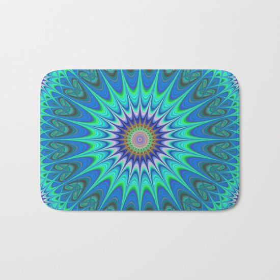 Cool mandala Bath Mat