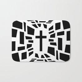 Christian Cross Bath Mat