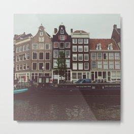 Jordaan District, Amsterdam Metal Print