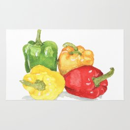 Bell Peppers Rug