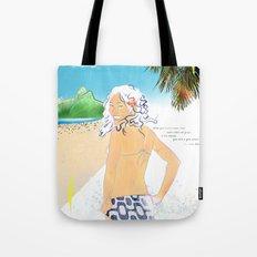 garota de ipanema Tote Bag