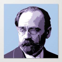 Émile Durkheim Canvas Print