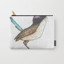 PURPLE CROWNED FAIRY WREN Carry-All Pouch
