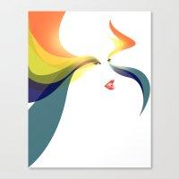 goddess Canvas Prints featuring Goddess by Noah Ocean