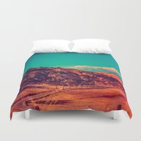 acid Duvet Covers featuring Slow Acid. by Daniel Montero