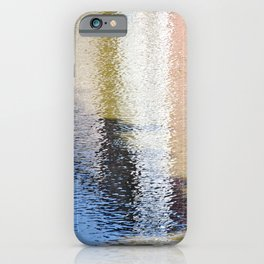 Light and Shadow Reflections (City Walks) iPhone Case