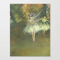 """degas Canvas Prints featuring """"Ghost Dancer on a Stage"""" / Edgar Degas by Retrosneaker3"""
