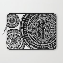 Multi Layered Mandalas Laptop Sleeve