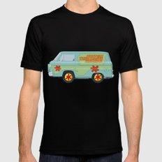 Mystery Machine - Scooby-Do!  III/III Black Mens Fitted Tee MEDIUM