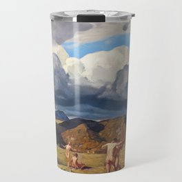 Men and Mountains by Rockwell Kent, 1909 Travel Mug