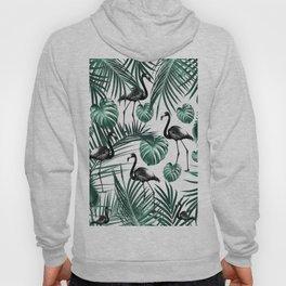 Tropical Flamingo Pattern #6 #tropical #decor #art #society6 Hoody