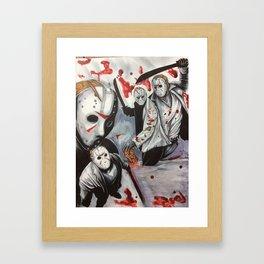 Born On A Friday Framed Art Print