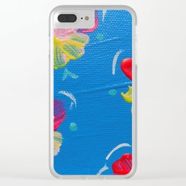 New Harbor Rose Clear iPhone Case