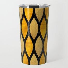 Gold Twist Travel Mug
