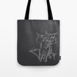 Cat Movement Tote Bag