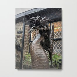 Welsh Dragon Metal Print