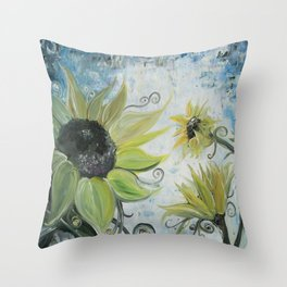 Sun Chasers Throw Pillow