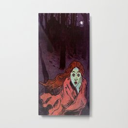 The Chase - Running Away From Fear Metal Print