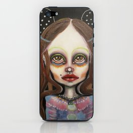night mouse iPhone Skin