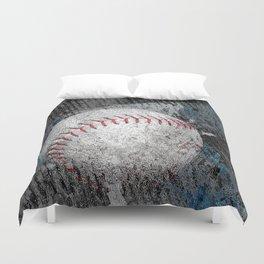 Baseball print work vs 1 Duvet Cover