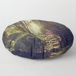 Hidden trail Floor Pillow