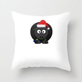 Weihnachten Schaf Weihnacht Schafe Bock weihnachtet schwer Throw Pillow