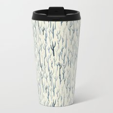Winter Wood Metal Travel Mug
