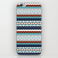 navajo iPhone & iPod Skins featuring Navajo Pattern by Sean O'Connor