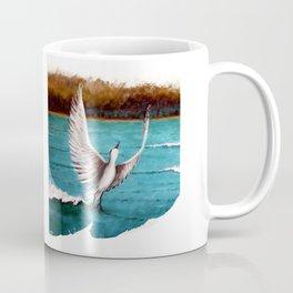 Taking off bird Coffee Mug
