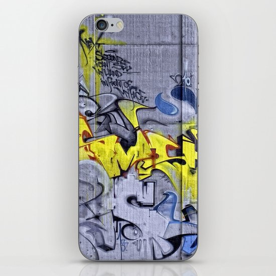 Wall-Art 001 iPhone & iPod Skin
