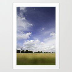 It's all just a crazy blur to me Art Print