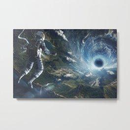 Space Artwork Metal Print