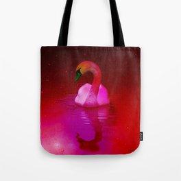 Surreal swan Tote Bag
