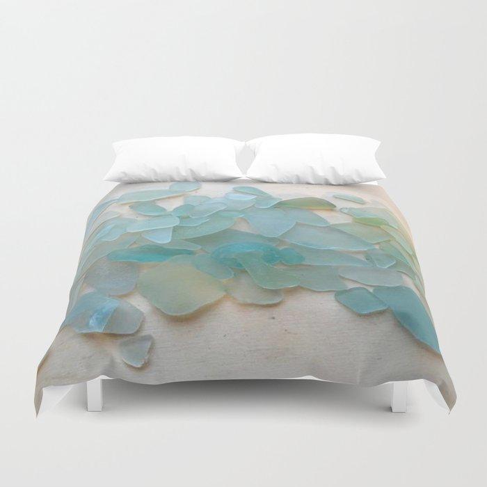 Ocean Hue Sea Glass Bettbezug
