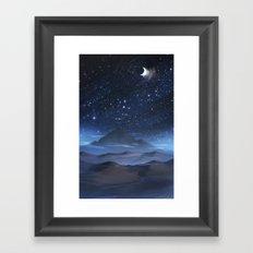 Night Mist Framed Art Print