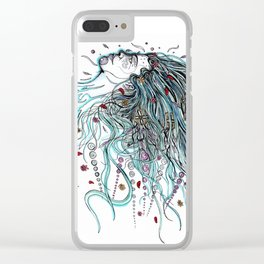 Flowing Dreams Clear iPhone Case