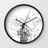 bane Wall Clocks featuring Bane by justjeff