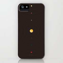 Heliocentric iPhone Case