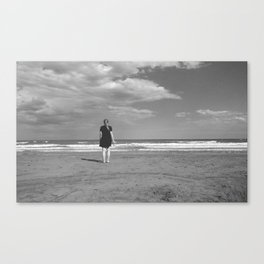 Off the sea Canvas Print