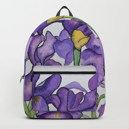 Pretty Purple Petals Backpack