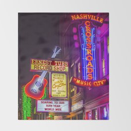 Music City Throw Blanket