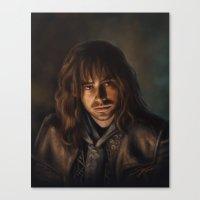 kili Canvas Prints featuring Kili by Svenja Gosen