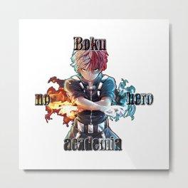 Todoroki Metal Print