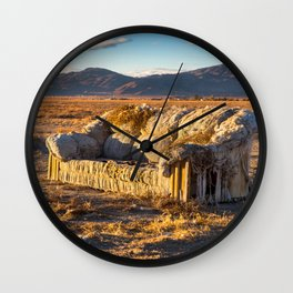 Sitting comfortably Wall Clock
