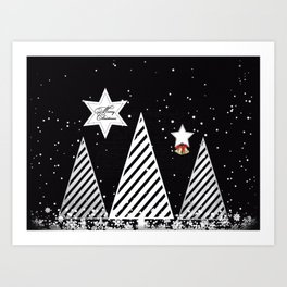 Winter Christmas Art Print