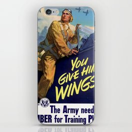 You Give Him Wings iPhone Skin