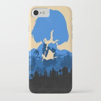 bioshock iPhone & iPod Cases featuring Bioshock Infinite Elizabeth by Bill Pyle