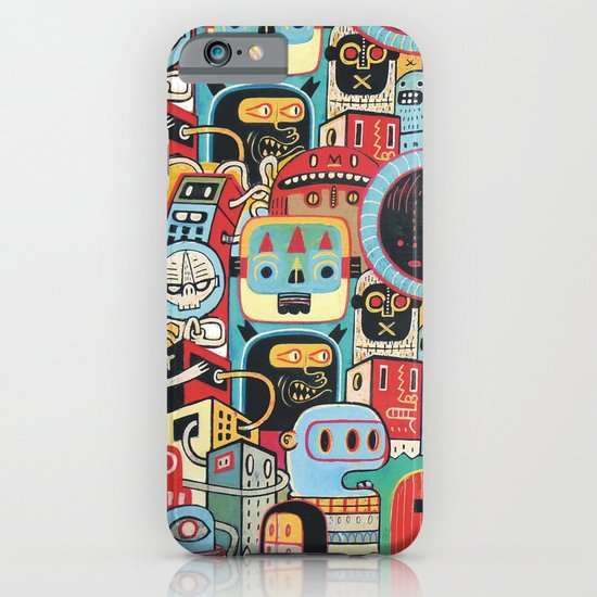 Two monkeys in town iPhone & iPod Case