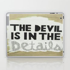The Devil is in the Details  Laptop & iPad Skin