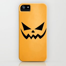Scary Jack-O-Lantern iPhone Case